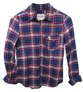 abercrombie kids Plaidshirt Button Down Shirt