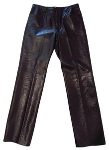 Boot Cut Pants Dark Brown