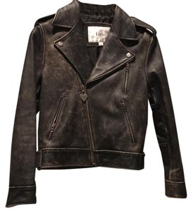 Luella Bartley for Target brown Leather Jacket