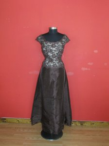 Montage Cocoa Formal Bridesmaid/Mob Dress Size 18 (XL, Plus 0x)