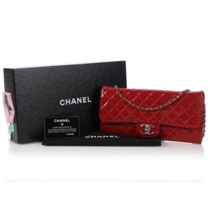 Chanel Ch.k1111.02 Quilted Leather Clutch Shoulder Bag
