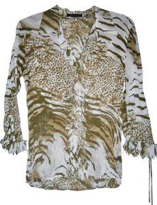 Violet & Claire Top ANIMAL PRINT