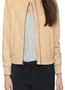 Vince nude Leather Jacket