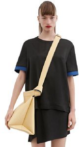 Acne Studios Silk Shirt Acne Top Black
