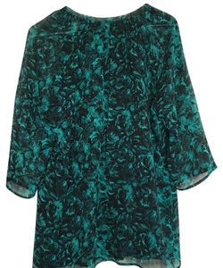 Winter Kate Top Green/Black