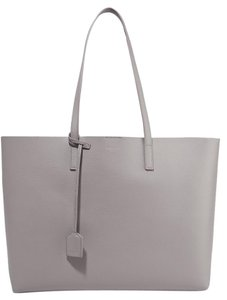 Saint Laurent Shopping Ysl Tote in Gray