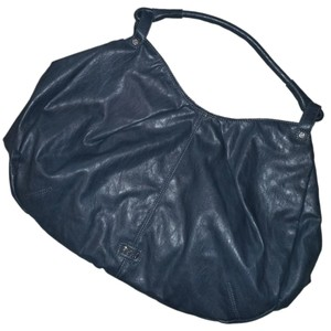 Romeo & Juliet Couture Large Blue Casual Hobo Bag