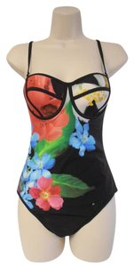 Ted Baker Ted Baker London 'Forget Me Not' Underwire One-Piece Swimsuit 34CD NEW