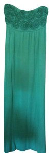 Green Maxi Dress by Attention