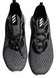 adidas Black and Grey Athletic