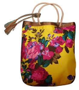 J.Crew Tote in Candy Pink Hibiscus