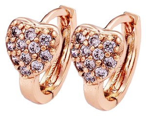 18K Gold Filled Heart Desire Earrings