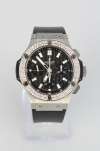 Hublot Men's Hublot 44mm Big Bang Evolution with Aftermarket Diamond Bezel