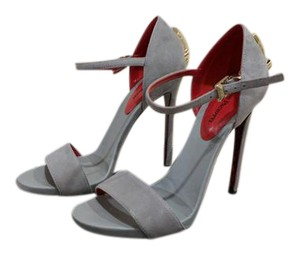 Cesare Paciotti Grey Pumps