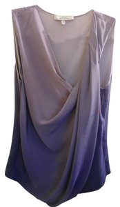 Robert Rodriguez Top Blue violet gradient