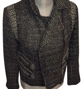 Banana Republic Silver black Blazer