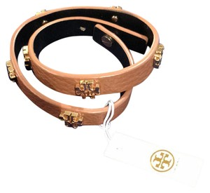 Tory Burch Tory Burch leather wrap bracelet