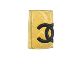 Chanel 6 Key Holder Case Wallet Quilted Cambon Leather Italy
