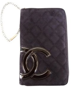 Chanel Large Chanel Zip Wristlet Wallet