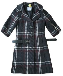 Classiques Entier Wool Belted Lined Wool Coat
