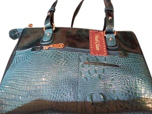 Madi Claire Satchel in teal