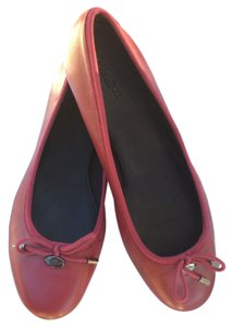 Coach Black Cherry Flats