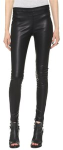 Blank Denim Brand New Faux Leather Denim Black Leggings