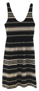 J.Crew short dress Navy and white stripe on Tradesy