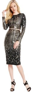 Marciano Sequin Two-piece Sparkle Dress