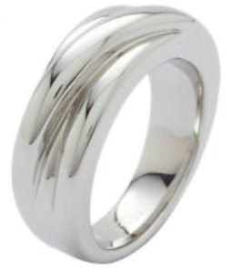 Fossil Stainless steel ring