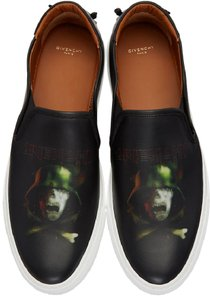 Givenchy Black with Skull Flats