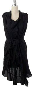 Zac Posen short dress Black Cotton on Tradesy