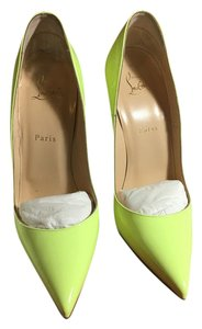Christian Louboutin Patent Leather Neon Pumps
