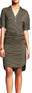 Banana Republic short dress Green and Black on Tradesy