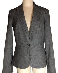 Banana Republic Banana Republic Grey Glen Plaid Suit Jacket