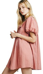 Free People short dress Rose Pink on Tradesy