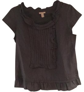 J.Crew Top Charcoal gray