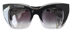 THIERRY LASRY 'Intimacy' Oversized Square Cat Eye Sunglasses