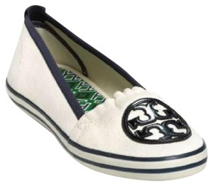 Tory Burch navy ivory Athletic