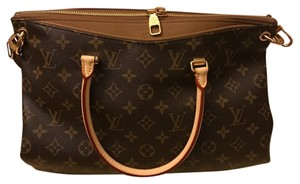 Louis Vuitton Satchel in Mono/Havane