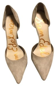 Sam Edelman 7.5 suede Dorsey pump light grey Pumps