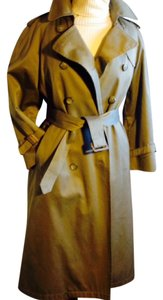 London Fog Belted Trench Vintage Trench Coat