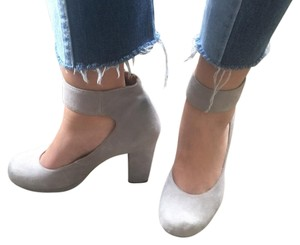 Jeffrey Campbell grey Platforms