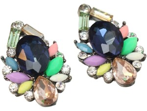 Other Retro Crystal Statement Earrings
