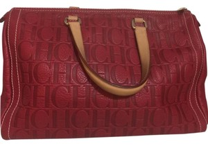 Carolina Herrera Satchel in Red