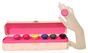 Juicy Couture juicy couture retired crayon Jewel wax ring set of 7