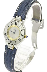 Cartier Must 21 Gold Plated Stainless Steel Two-Tone Watch