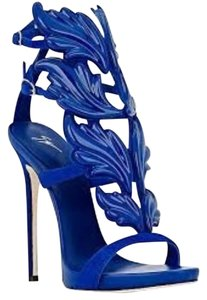 Giuseppe Zanotti Brand New In Box BLUE Pumps