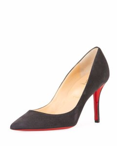 Christian Louboutin Brand New In Box DARK GRAY Pumps