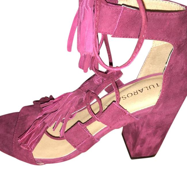 Item - Wine/Burgundy Luna Pumps Size US 7 Regular (M, B)